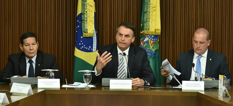 Primeira reunião de Bolsonaro – Algumas mudanças financeiras que foram definidas